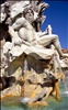 """Rome - """"Piazza Navona - Fountain Of Four Rivers"""""""