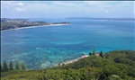 View from Tomaree Head up Port Stephens