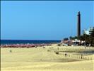 Maspalomas lighthouse from the dunes
