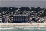 St Maartens Condominiums sett fra luften