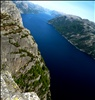 fjord panorama from pulpit rock
