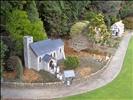 Cockington Green Miniature Village - church (with weddin