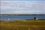 Iona:  View from our window