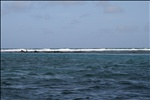 The barrier reef of Belize