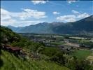 View from Monte Ceneri road toward Locarno