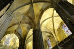 Interior of Gothic Cathedral - Seville, Spain