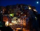 Serie di still notturne Manarola