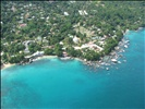 Mahe, Seychelles from the air