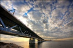 Öresund bridge HDR