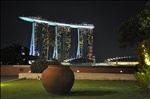 Marina Bay Sands, Singapore - a view from Esplanade