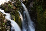 First view of Sol Duc Falls, Olympic National Park