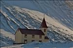 Church in Bolungarvik, Iceland