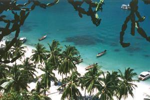 pristine thai beach
