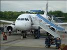 Mandala Airlines in Syamsudien Noor Airport
