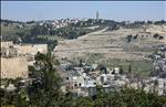 View of Mt Olives from Mt Zion (11-MAR-06) #1