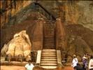 Sri Lanka - 072 - Lion Entrance guarding Sigiriya summit