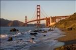 Golden Gate Bridge from Baker Beach - San Francisco, California