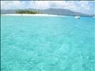 British Virgin Islands - Sandy Spit off Jost Van Dyke