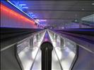 Lichter am Flughafen München