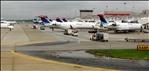 Delta Connection (CRJs), AirTran (717/73Gs) - Hartsfield-Jackson Atlanta Int´l. (ATL), GA, USA.