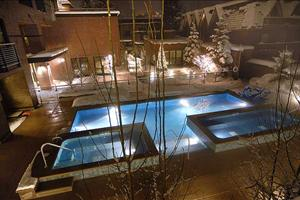 the pool at limelight lodge