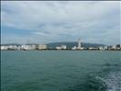 Blick von der Fähre nach Penang