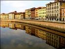 Arno, Pisa, Italia