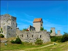 the stonewall in visby, gotland