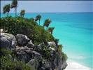 tulum y el mar caribe