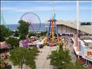 Cedar Point - Kiddy Kingdom and Wicked Twister Midway