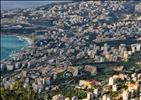 View of Jounieh from Harissa, Lebanon