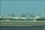 Newark view from airport. August 05'