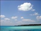 Shades of Blue off Bangaram Island