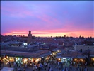 view of the djemaa el fna square