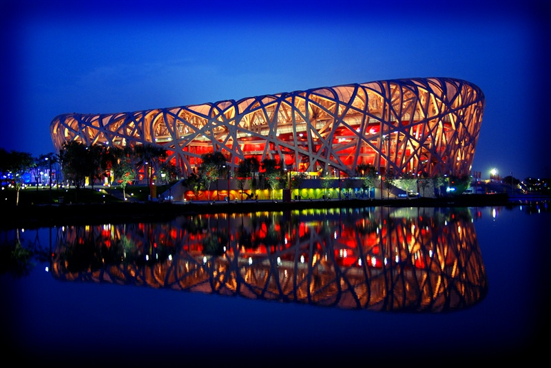Bird 39 s nest beijing national stadium for The bird s nest stadium
