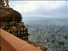 Jaipur city, viewed from high up