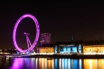 The London Eye and River Thames at Night