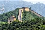 Badaling Great Wall in the summer