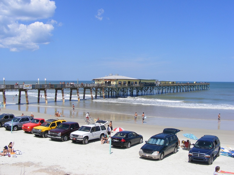 Daytona Beach Driving And Parking