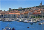 Busy Harbor of Marseille