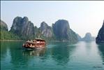A cruise in Ha Long Bay