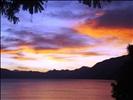 Lake Atitlán, view from Panajachel, Guatemala