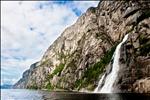 Cascada en Lysefjord