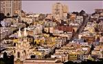 san francisco, city of color - desktop background wallpaper