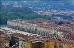 Piazza Vittorio (Torino) seen from the Mole Antonelliana