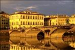 Florentine Colours I (FLORENCE/ITALY/BRIDGE/REFLECTION)