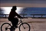 Cycling Silhouette - Barcelona