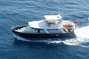 the descarada luxury motor yacht