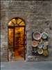 Shop's Lights - San Gimignano, Tuscany