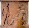 Greek burial stone, Pergamon Museum, Berlin